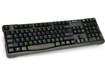 Клавіатура A4-Tech KR-750 USB, чорна, 103 keys, Win.Vista x86 Comfort Rounded Edge keyboard
