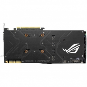 Відеокарта Asus GeForce GTX 1070 8Gb STRIX (STRIX-GTX1070-8G-GAMING) DDR5, 256 Bit, 1657 MHz (Boost - 1860 MHz), 8012 MHz, 2 x DisplayPort, DVI, 2 x HDMI, Дизайн системы охлаждения фирменная DirectCU III, Дополнительное питание 1x8pin