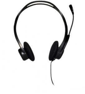 Гарнітура Logitech PC 960 Stereo Headset USB (981-000100)